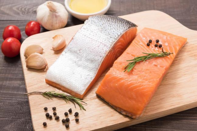 pelle salmone