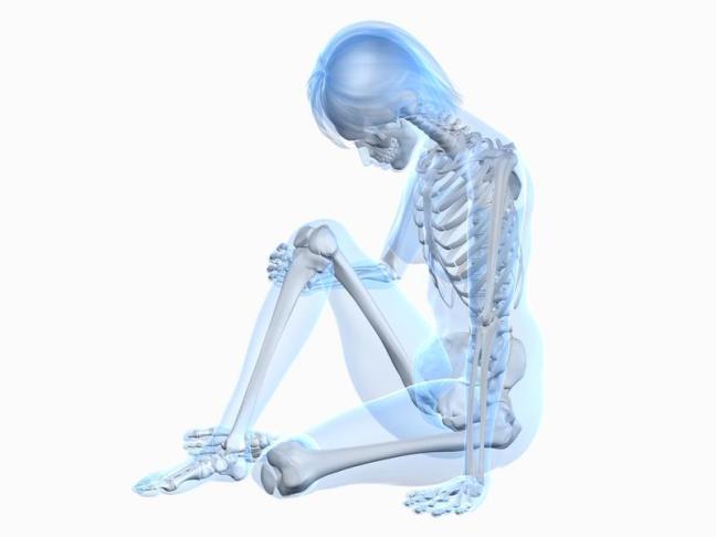 scheletro donna