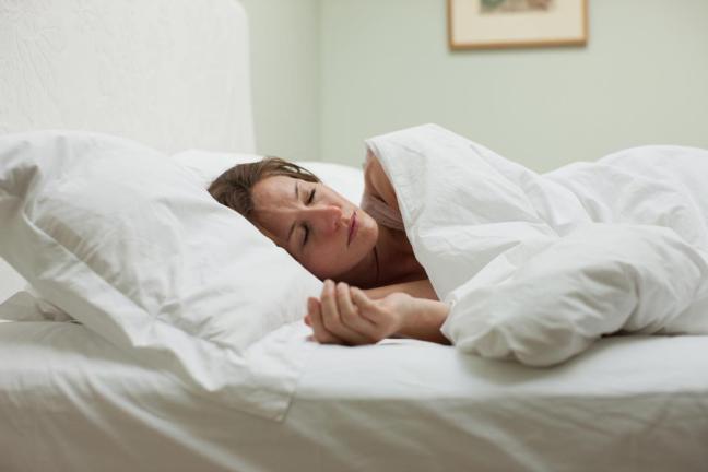 donna al letto